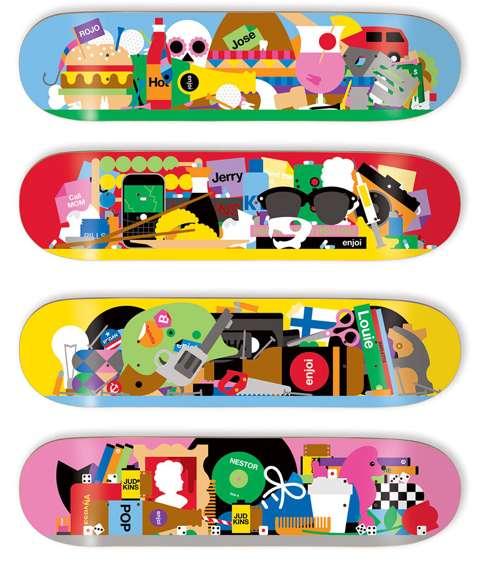 44 Transformed Skateboard Creations