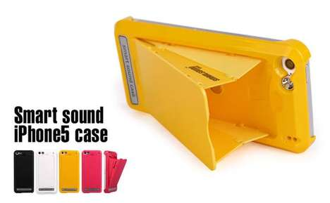 Sound-Amping Phone Cases - The iPhone Amplifier Case is a Multifunctional Device
