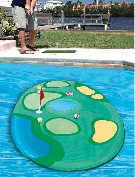 Floating Island Golf Games