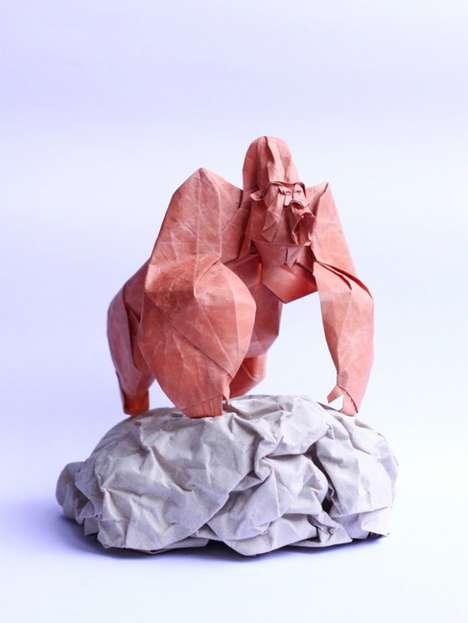 Intricate Origami Artworks