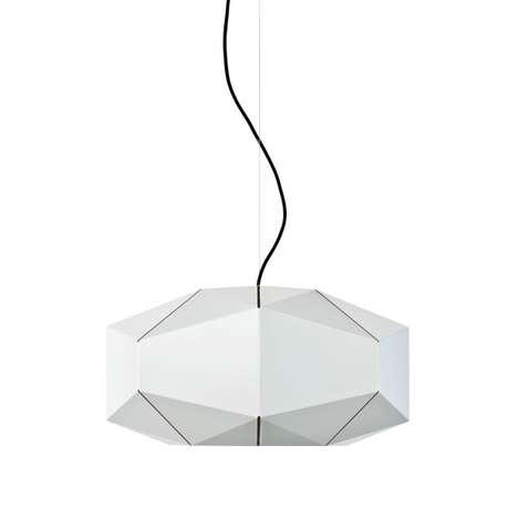 Sculptural Origami Illuminators