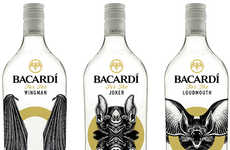 Bat-Centric Booze Branding - This Student Design Project Features Personified Bats