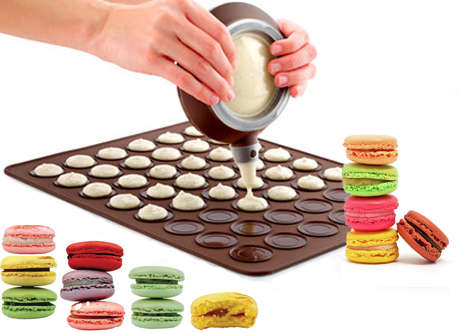 Macaron Baking Kits - This Set Includes Everything You Need to Make Finicky Pastries
