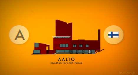 Alphabetic Architecture Animations