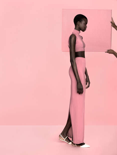 Pink-Permeated Photoshoots