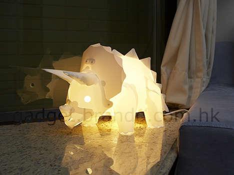 Puzzle Piece Dinosaur Lights