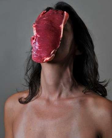 Food-Faced Female Portraits