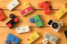 Mini Building Block Cams - The Nanoblock Camera by Fuuvi is Charming and Convenient