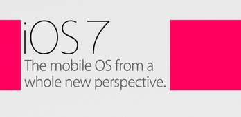 The 'iOS 7 New Features' Infographic Examines the