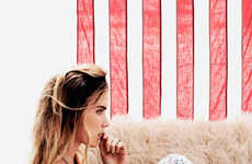 Boho Americana Fashion - The Free People American Beauty Lookbook Stars Free-Spirited Elsa Sylvan
