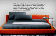 Urban Slang Wall Decals - Define Terms Like YOLO, Party Foul and Hella Tight with a Funny Wall Decal