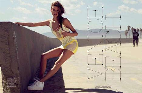 Sporty Beachwear Fashion