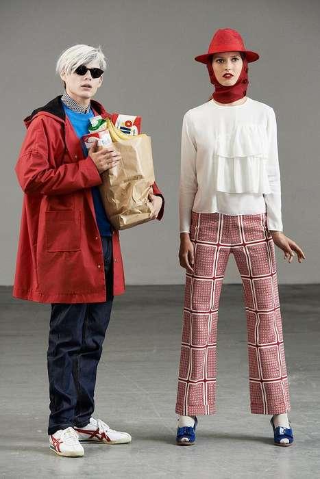 Warhol-Inspired Lookbooks