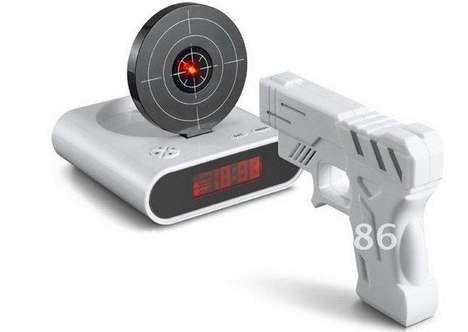 These Alarms are a Fun Way to Practise Your Shot While Waking Up