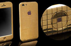 Glamorous Golden Smartphone Cases - This Goldgenie Case Shines with a Golden Glory Worthy of Midas