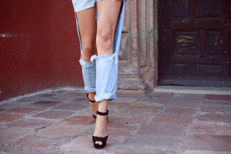 DIY Missing Material Jeans