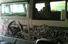 Crowdsourced Van Designs - The 'My Sharpied Van' Project Lets Strangers Vandalize a Truck