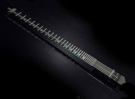 Skeletal Illuminated Guitars