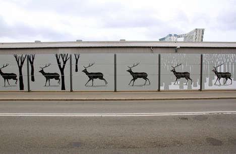 Spectacular Moving Murals
