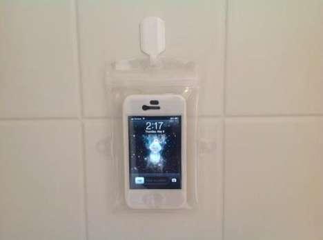 Shower-Proof Smartphone Gear