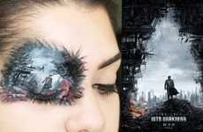 Into Darkness-Inspired Makeovers - Makeup Artist Sahily Creates a Star Trek Scene on a Human Face