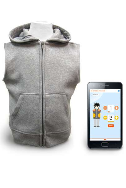 Hug-Simulating Jackets