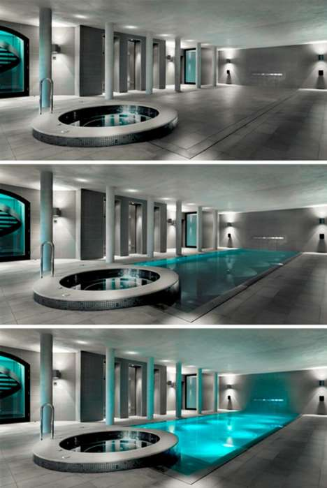 Movable Swimming Pool Floors
