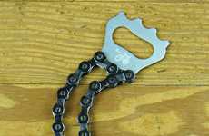 Bike Chain Bottle Openers