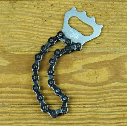 Bike Chain Bottle Openers