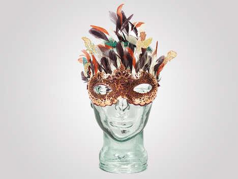 Glamorously Charitable Animal Masks