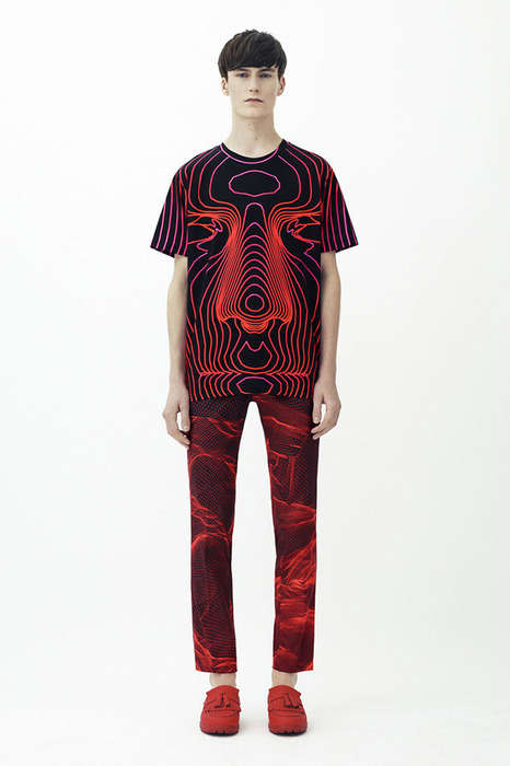 Vibrant 3D-Printed Menswear