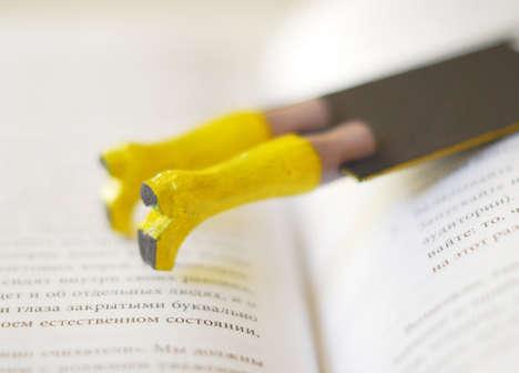 Toy Leg Bookmarks