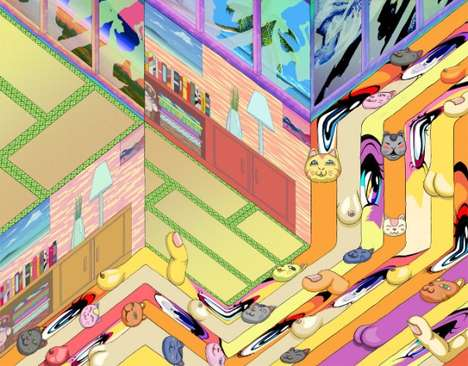 Surreal Labyrinthine Illustrations