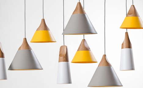 Conical Pendant Lights