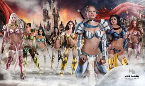 These Disney Princess Warriors Will Please Any Disney Fan