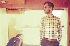 Train-Travelling Hipster Fashions - The Velour Summer Men's Line is for the Dapper Travel