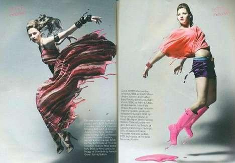 Liquid Fashion Editorials