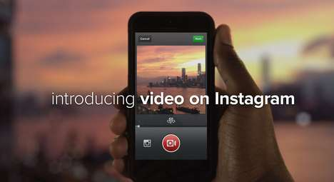 Film-Enabled Social Media Announcements