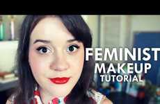 Satrical Women's Rights Videos - The Feminist Parody Makeup YouTube Video Spoofs Gender Roles