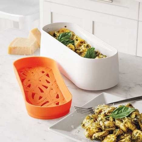 Microwavable Cooking Containers