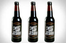 Sacrilegiously Sweet Beer Brandings - DuClaw Sweet Baby Jesus Chocolate Peanut Butter Porter is Rich