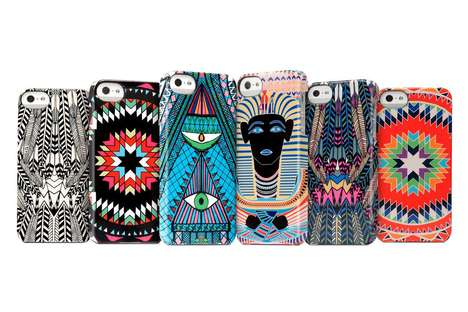 The Mara Hoffman Snap Case for iPhone is Loud and Colorful