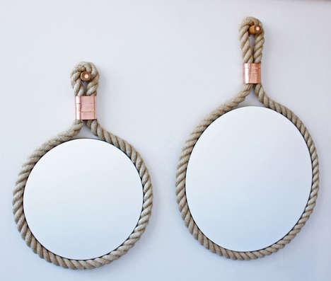 Minimalist Rustic Mirrors