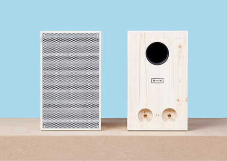 Sustainably Harvested Wooden Speakers