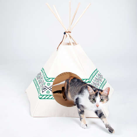 Compact Cat Tents