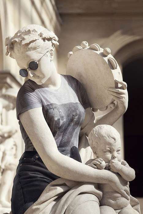 Photoshopped Classical Sculptures
