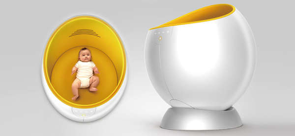 26 Egg-Shaped Furniture Designs