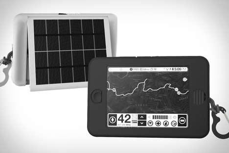 Tough Solar-Powered Tablets - The Earl Backcountry Survival Tablet is Ready for an Adventure