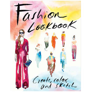 Aspiring Designer Coloring Books - The Fashion Lookbook Activity Journal Lets Fashionistas Design