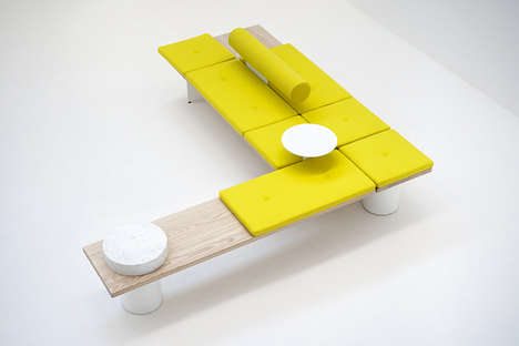 Cheerful Modular Couches